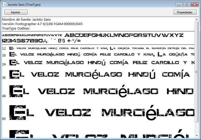 Well-known Instalar Nuevas Fuentes [Tipos de letras] en Windows Vista  ZP02